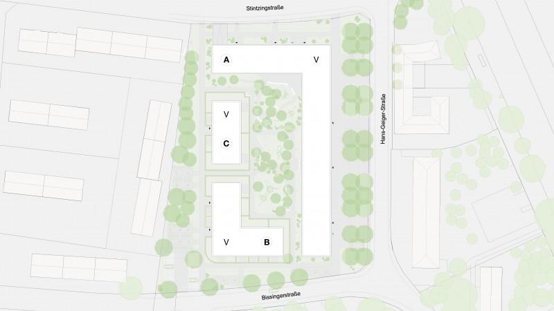 Wohnanlage Jaminpark Erlangen
