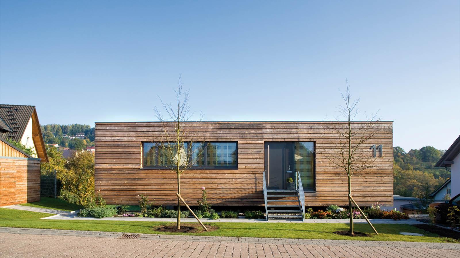 f1 wohnbox am hang h2m architekten ingenieure. Black Bedroom Furniture Sets. Home Design Ideas