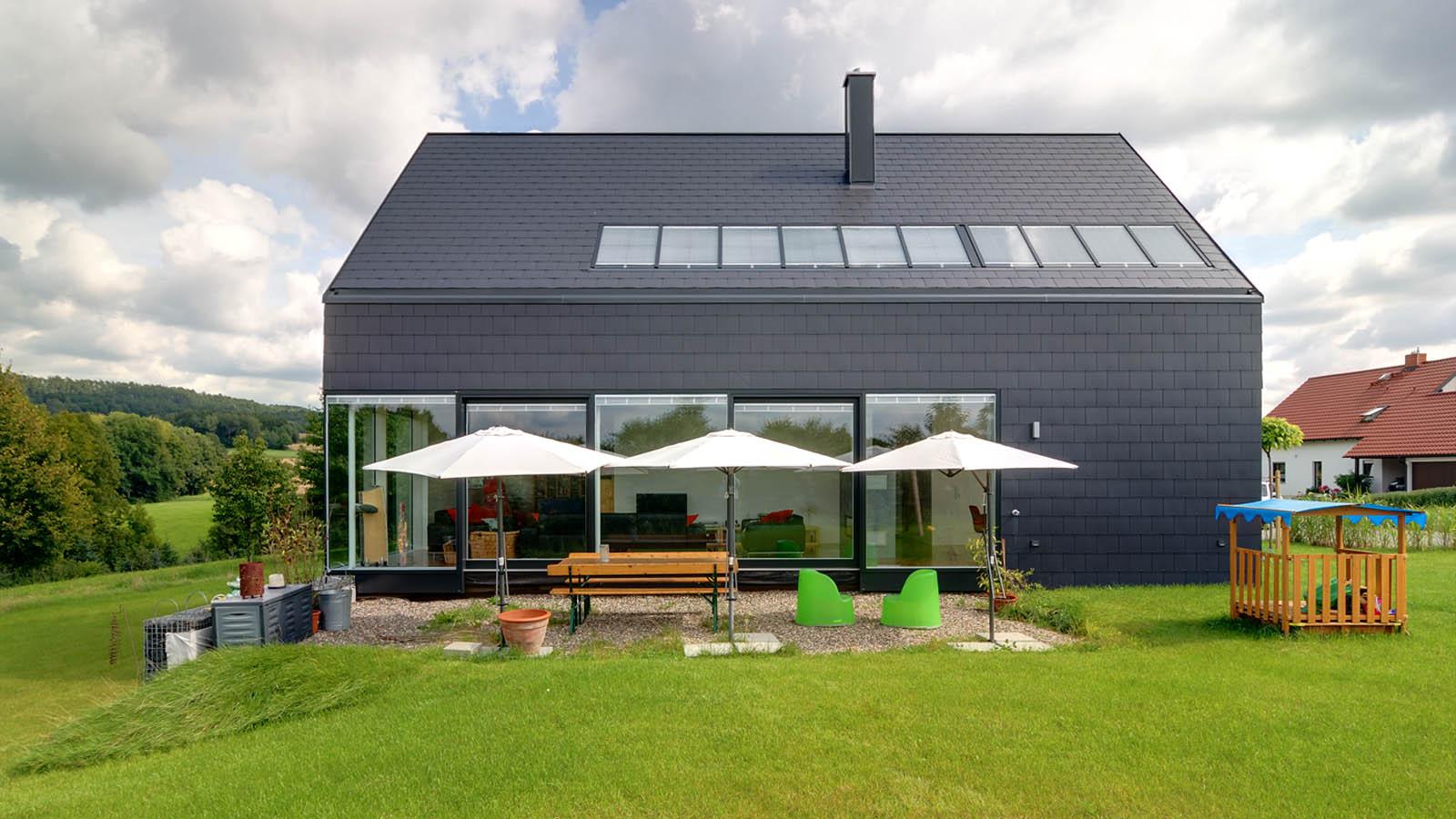 k4 ein haus als monolith h2m architekten ingenieure. Black Bedroom Furniture Sets. Home Design Ideas