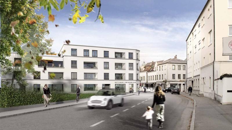 Neubau Mehrfamilienhaus in Altötting