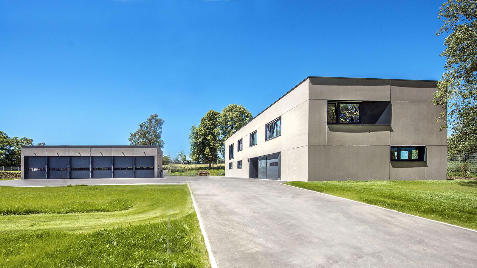 TÜV und THW, Hof, H2M Architekten, Kulmbach