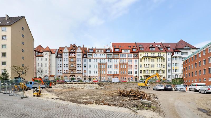 Baubeginn MWS in Nürnberg