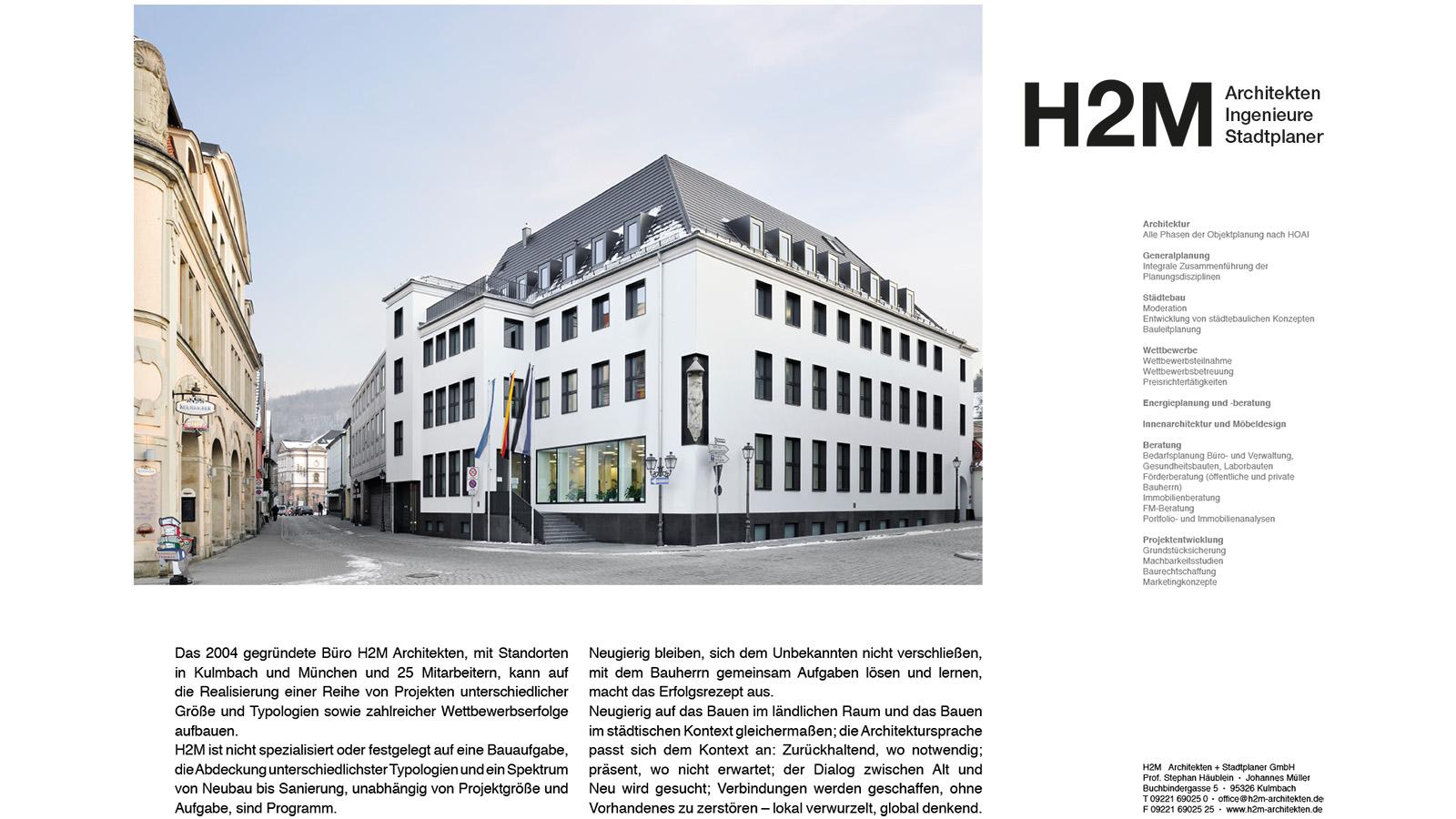 H2m Architekten vortrag cluster energie innovation bauen h2m architekten