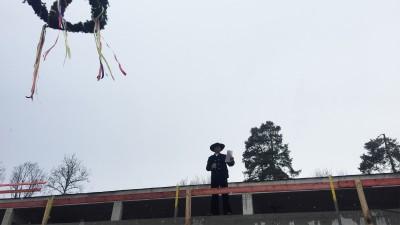 Richtfest Neubau KJP in Haar