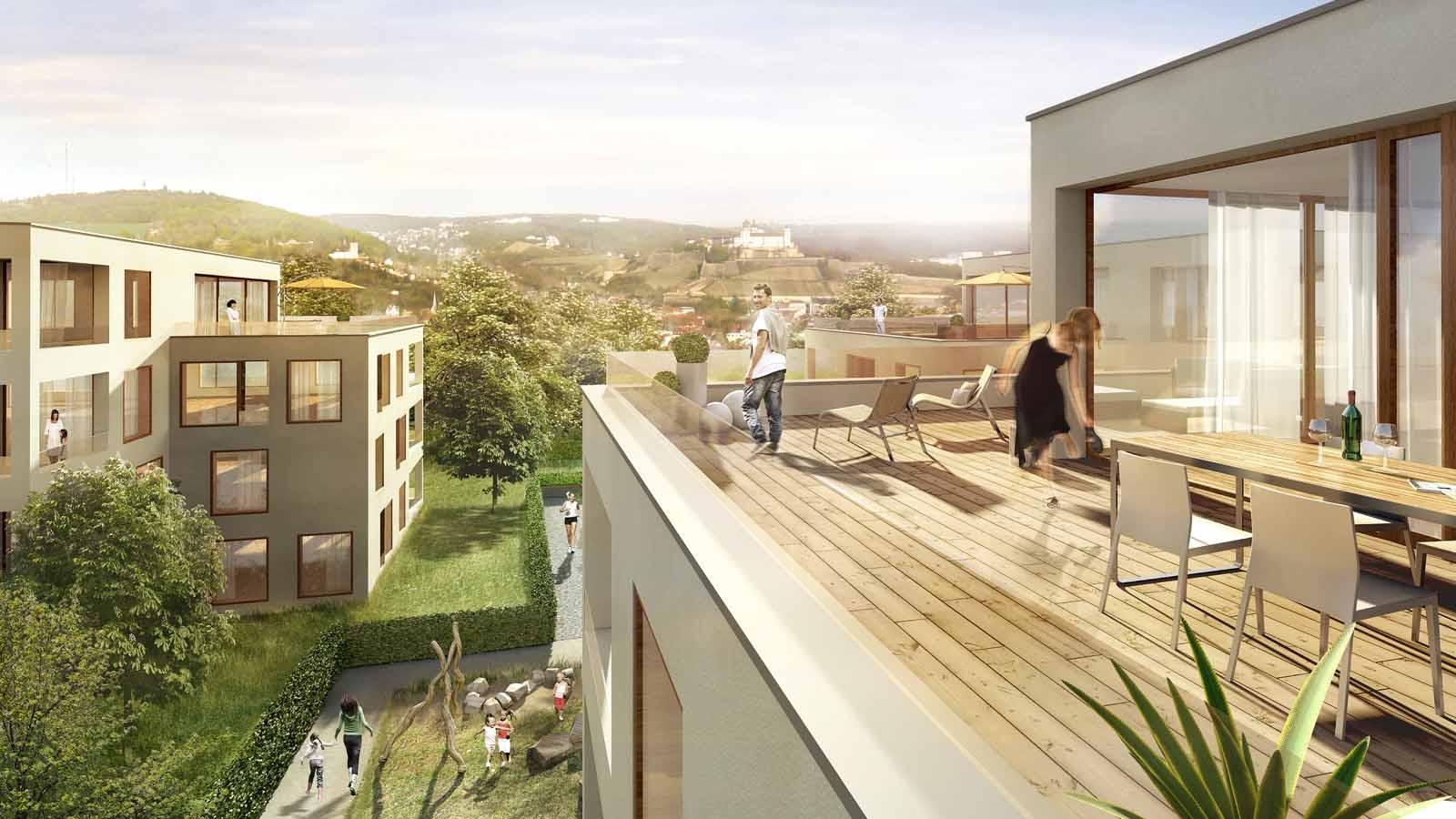 Hubland Wohnungsbau