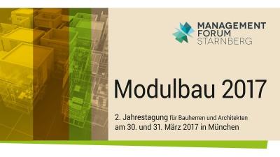 Vortrag Jahrestagung Modulbau 2017