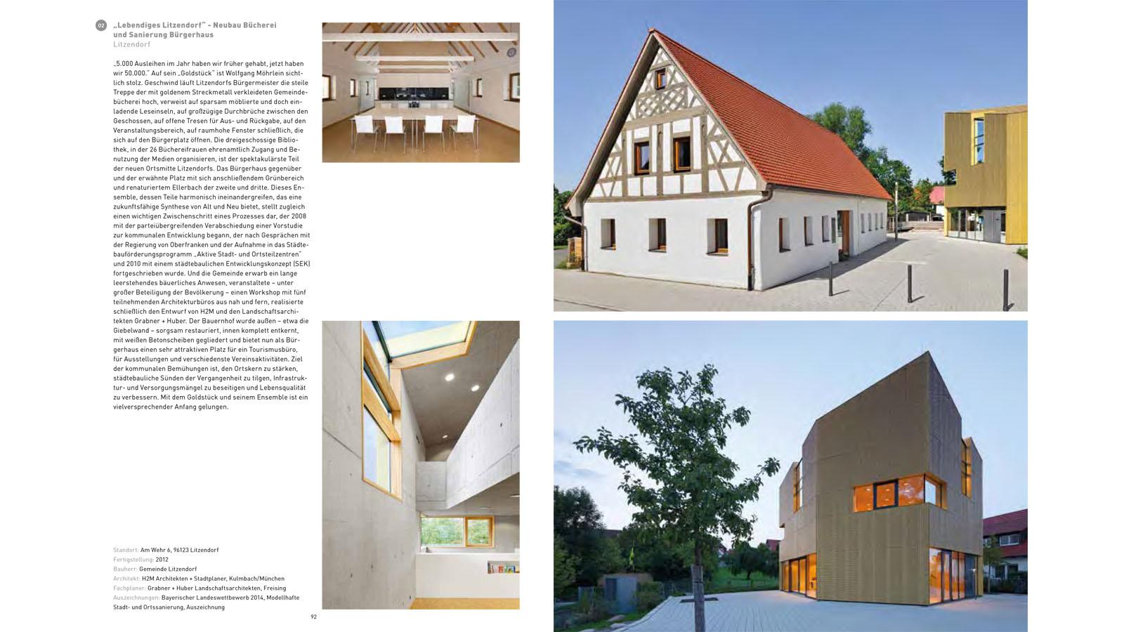 Publikation Architektur Oberfranken_Litzendorf