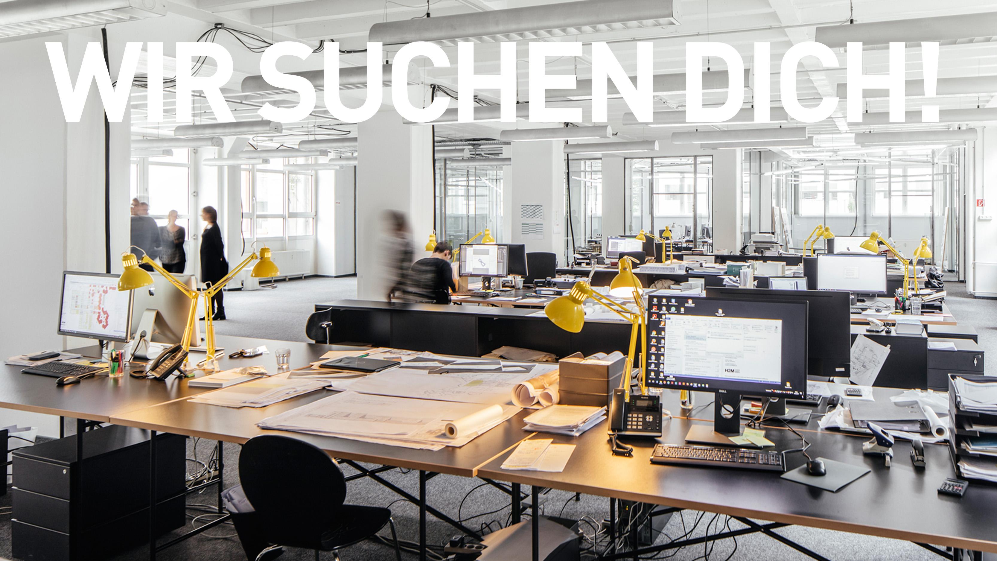 Architekten/-innen gesucht am Standort in München