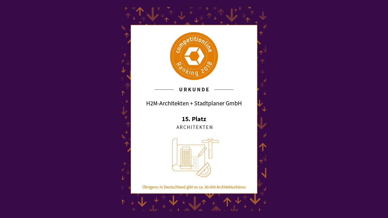 competitionline-ranking-2018-h2m-architekten-urkunde-homepage