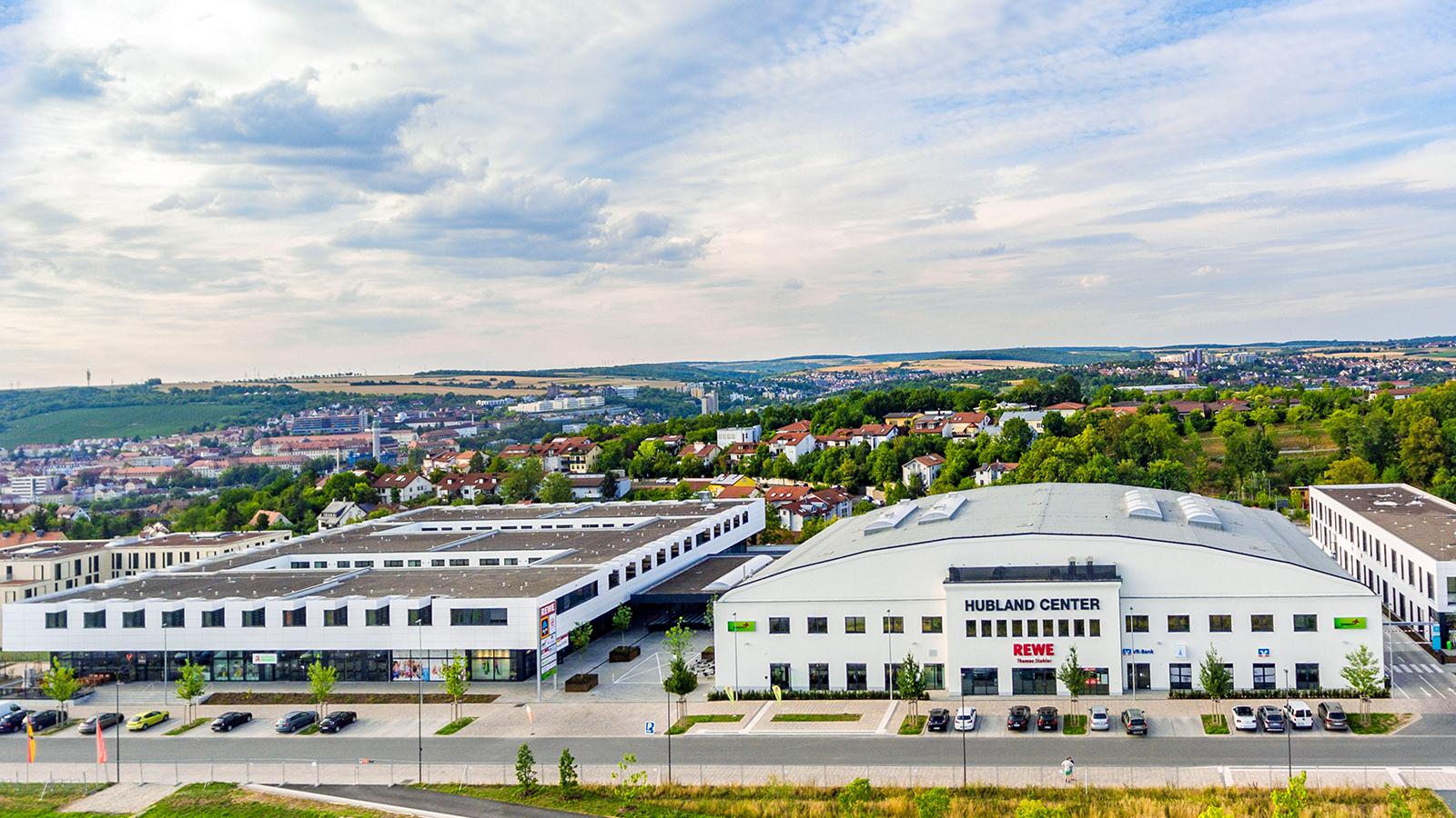 h2m-architekten-hubland-center-wuerzburg-vogelperspektive