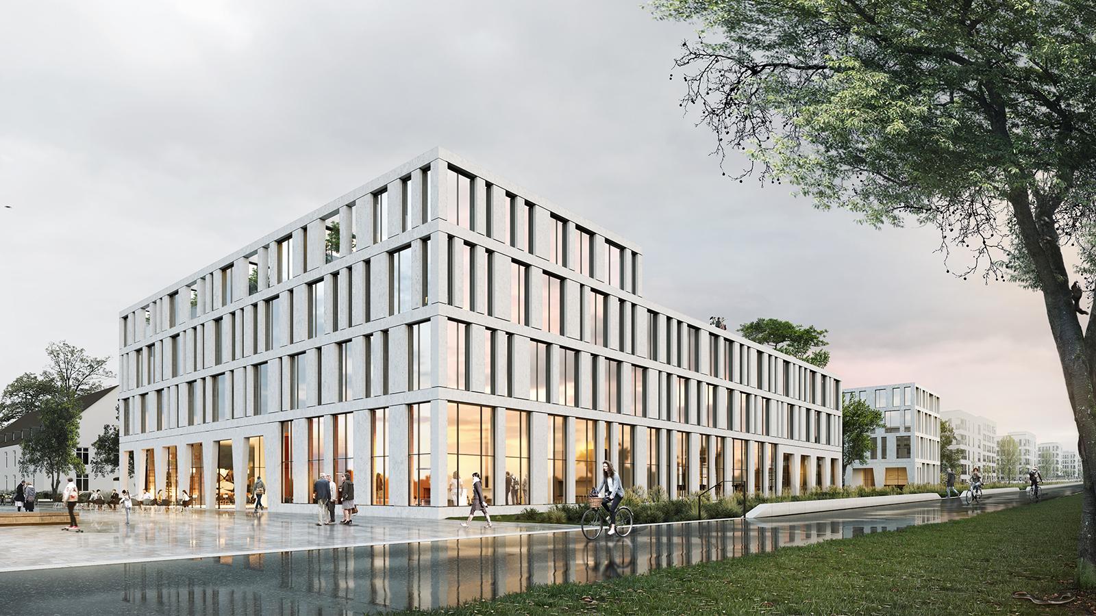 h2m-architekten-wettbewerb-ärztehaus-hubland-würzburg-visualisierung