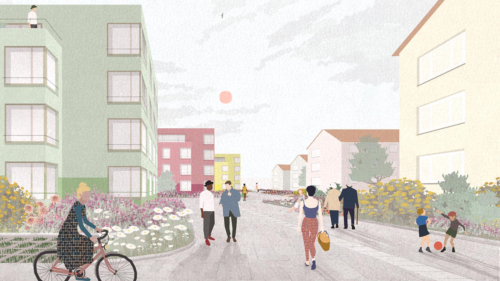h2m-architekten-wettbewerb-goethequartier-sonthofen-visulalisierung