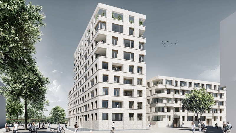 1.Preis Wettbewerb Marina Quartier Regensburg