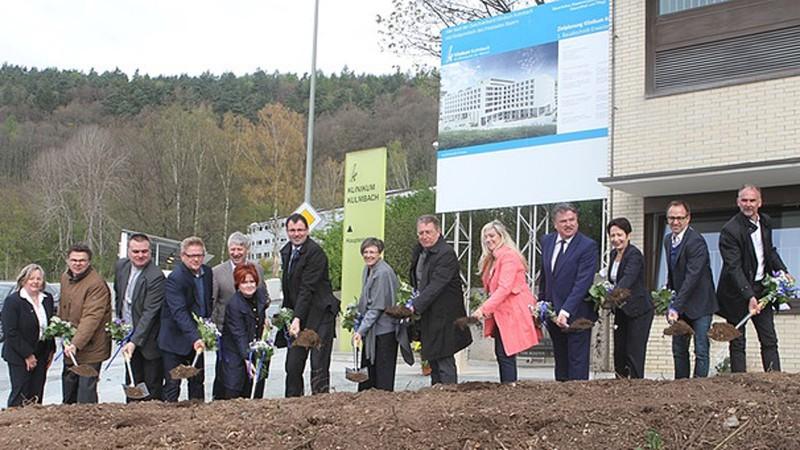 Spatenstich Klinikum Kulmbach