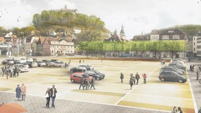 1. Preis beim Wettbewerb Zentralparkplatz in Kulmbach