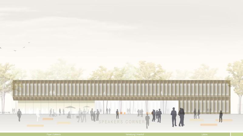 Neubau der Fakultät für Wirtschaftsingenieurwesen am Standort Schweinfurt