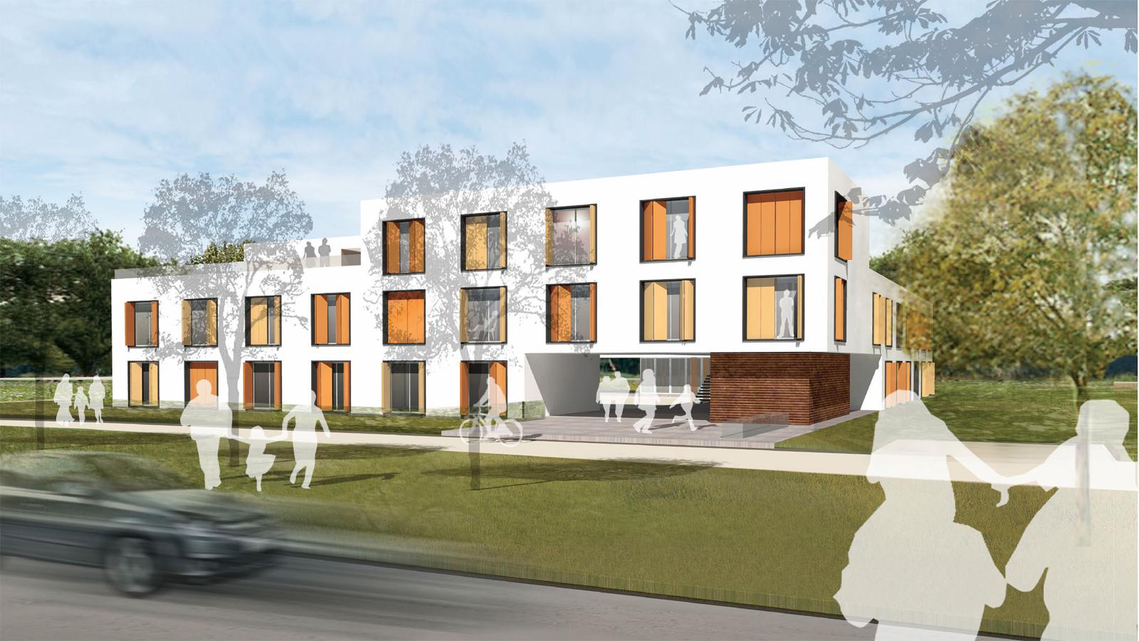 Wohnungsnotfallheim Forchheim, Realisierungswettbewerb