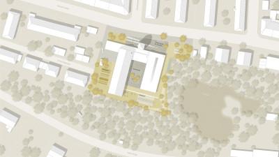 Neubau Kindertagesstätte mit Gemeindesaal Hof
