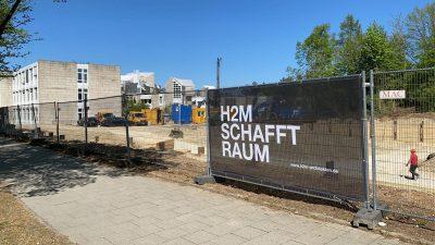 Baubeginn Kinderzentrum München