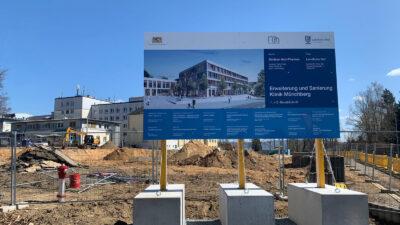 Baubeginn Klinik Münchberg