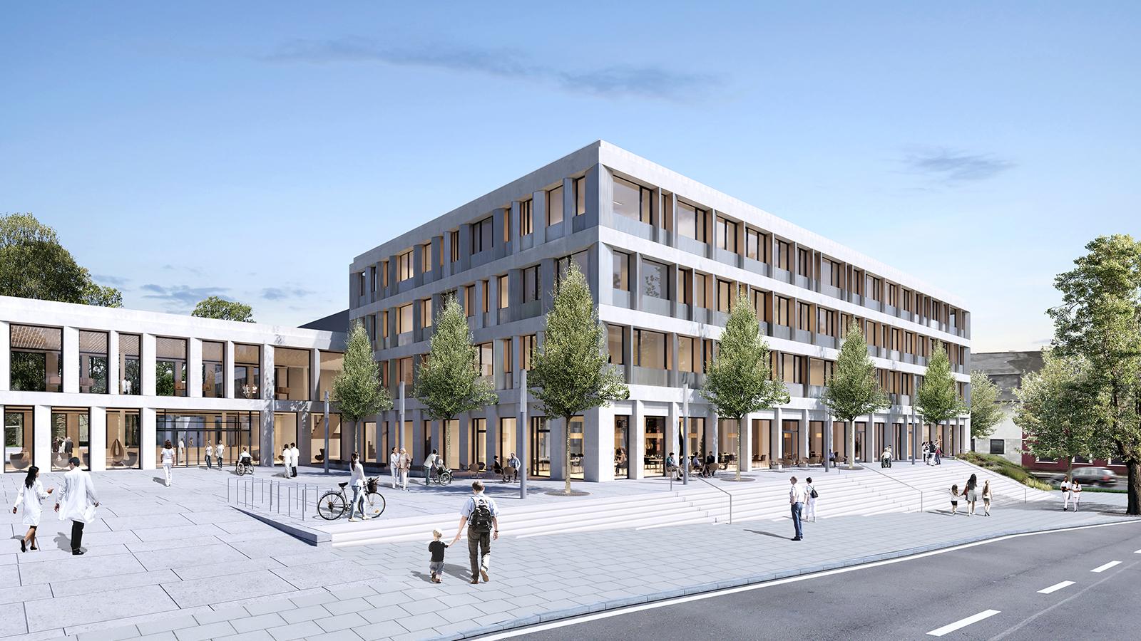 Klinikum Münchberg - H2M Architekten