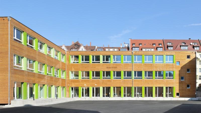 Interimsgebäude Maria-Ward-Schule Nürnberg