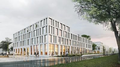"""2. Preis WB """"Ärztehaus Hubland, Würzburg"""""""