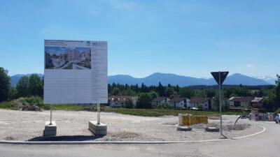 Baustart in Penzberg